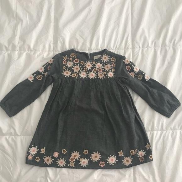 992a4899d Zara Dresses | Baby Girl Dress Size 23 | Poshmark